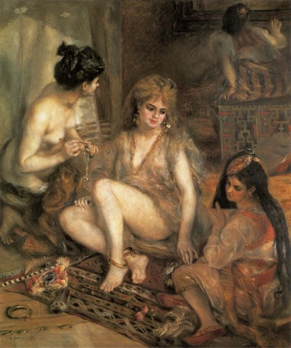 s500_Z_アルジェリア風のパリの女たち(ハーレム)< Pierre Auguste Renoir>.jpg